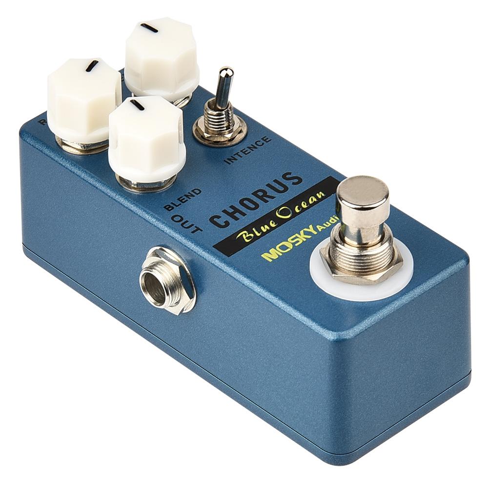 thumbnail 39 - MOSKY Guitar Multi Effect Pedal Reverb Delay Looper Overdrive Distortion Chorus