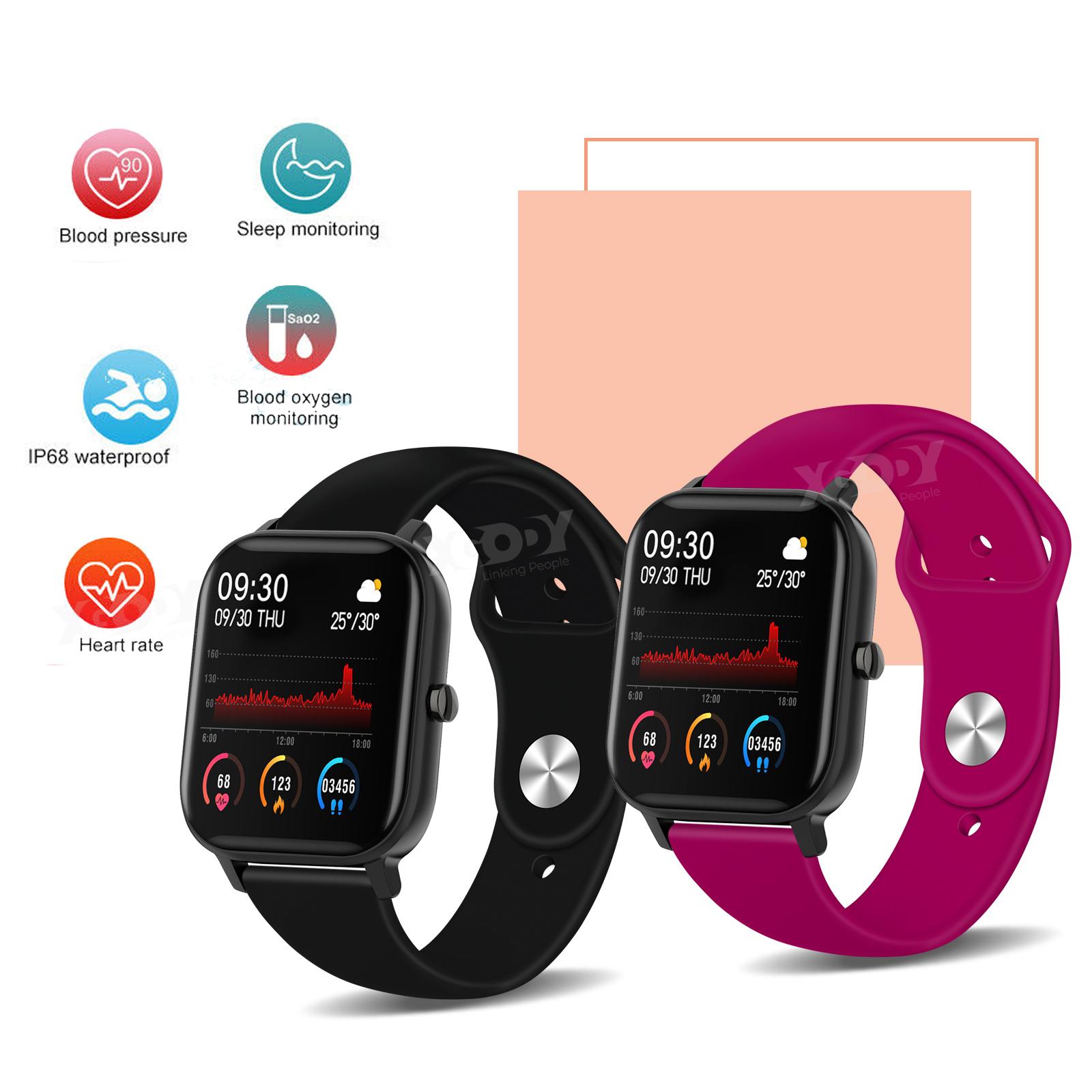 XGODY Waterproof Smart Watch Sleep Fitness Tracker Bracelet