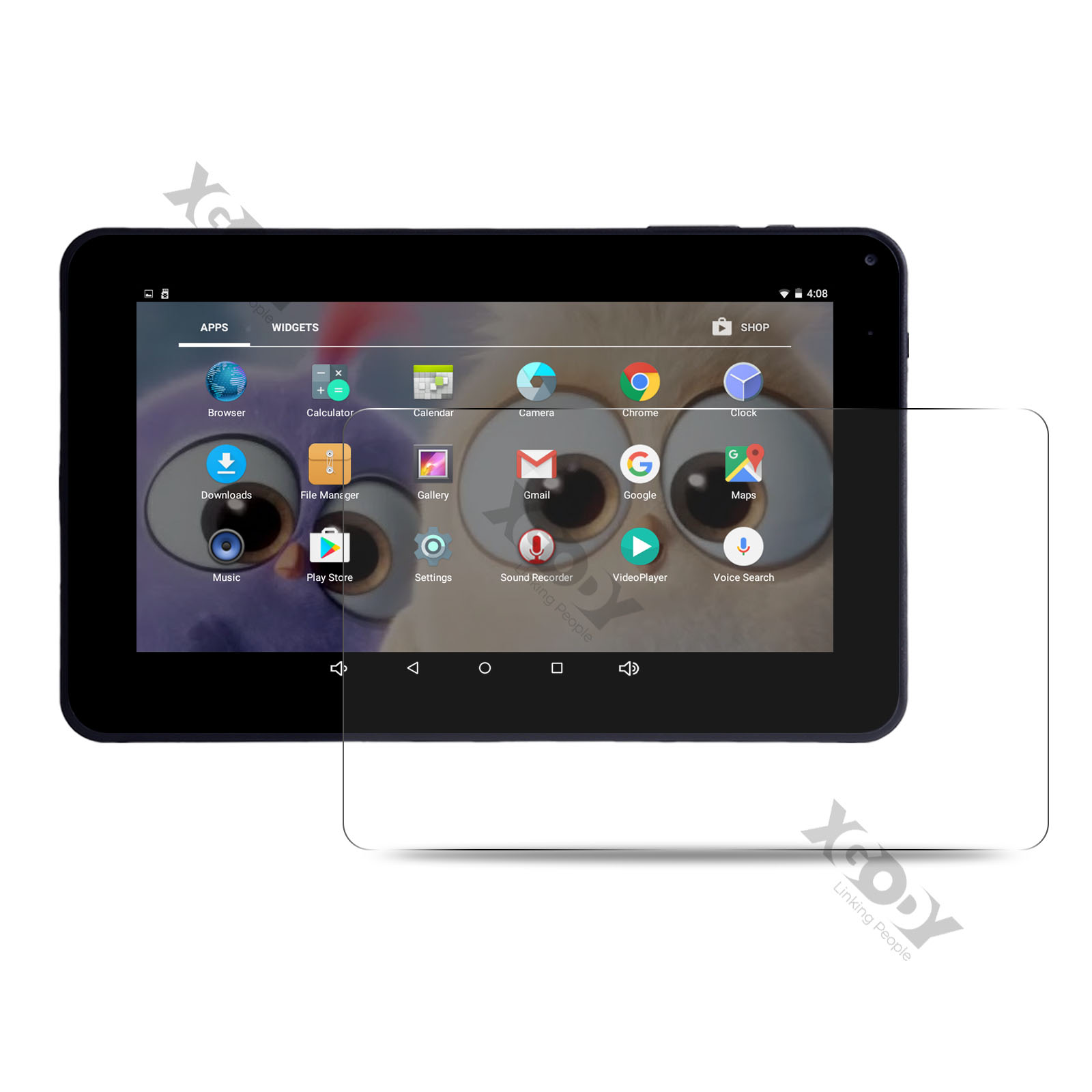 "XGODY 2020 9"" 1+16GB Android Tablet PC Quad Core Dual Camera"
