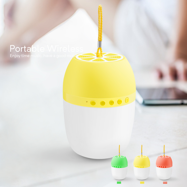 LED-TWS-Bluetooth-5-0-LED-Portable-Bluetooth-Speaker-Wireless-Bass-Speaker-W-TF miniature 28