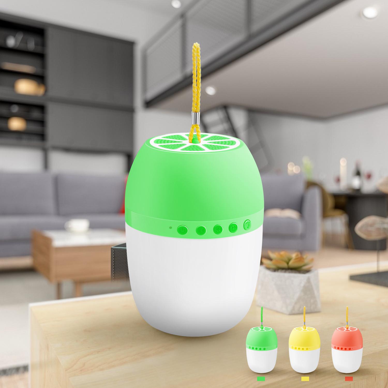 LED-TWS-Bluetooth-5-0-LED-Portable-Bluetooth-Speaker-Wireless-Bass-Speaker-W-TF miniature 38