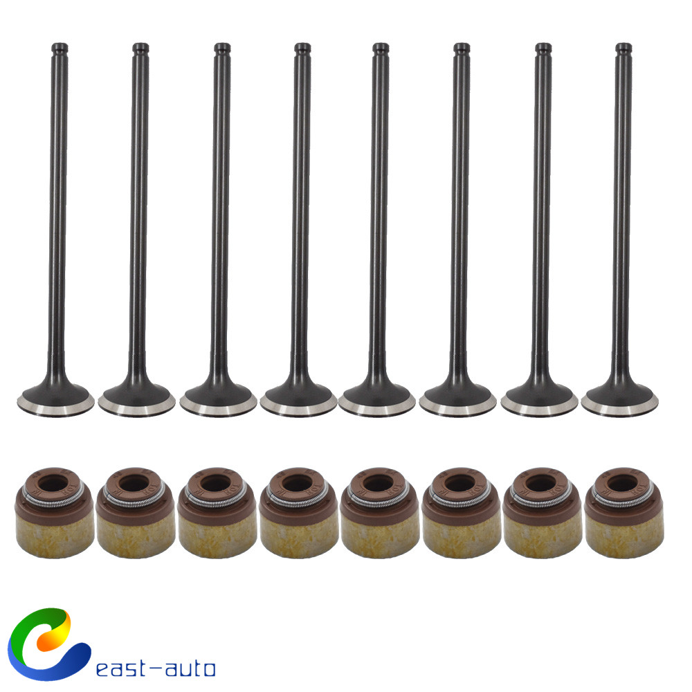Exhaust And Intake Valves For 1992-2005 Honda Civic Del