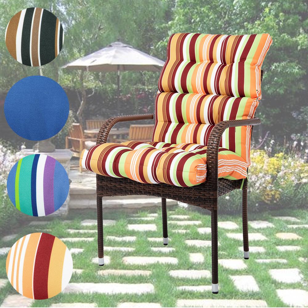garden patio soft chair seat cushion high