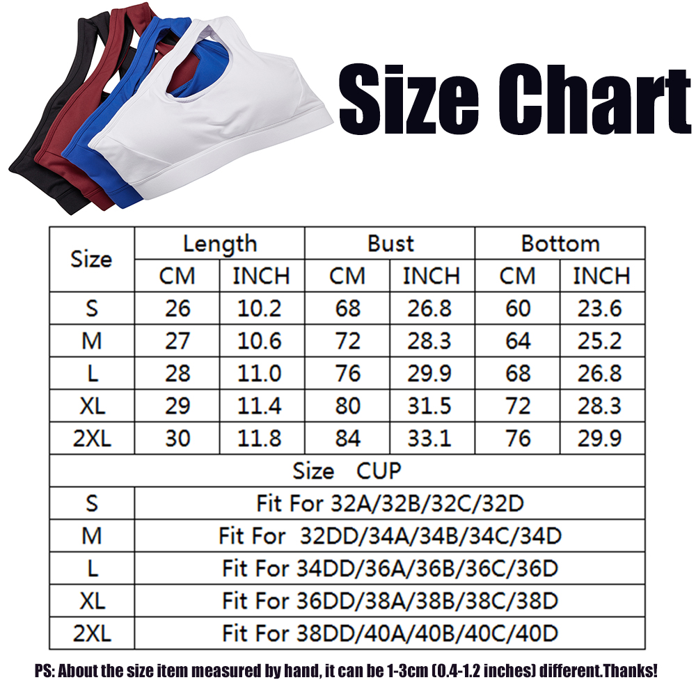 thumbnail 66 - New Womens Seamless Sports Bras High Impact Running Crop Tops Padded Yoga Bra US