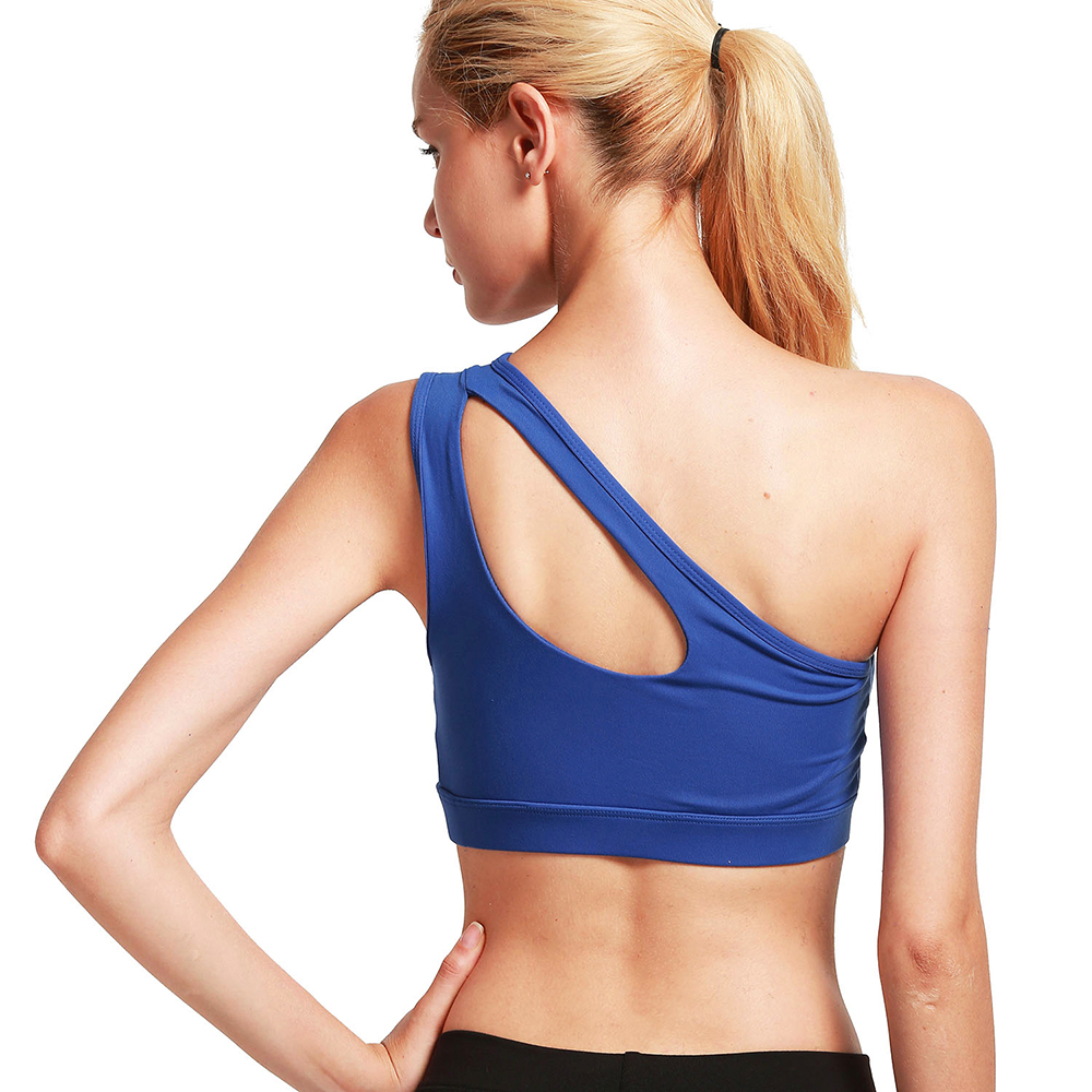 thumbnail 68 - New Womens Seamless Sports Bras High Impact Running Crop Tops Padded Yoga Bra US