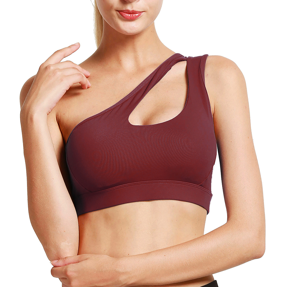 thumbnail 71 - New Womens Seamless Sports Bras High Impact Running Crop Tops Padded Yoga Bra US
