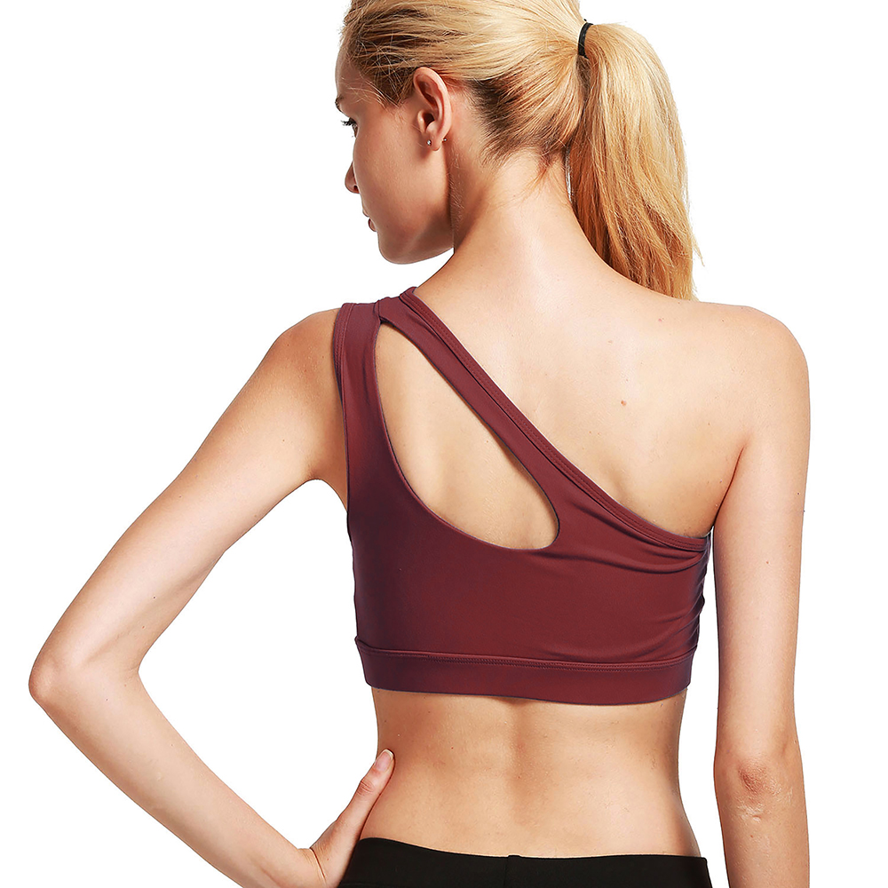 thumbnail 72 - New Womens Seamless Sports Bras High Impact Running Crop Tops Padded Yoga Bra US