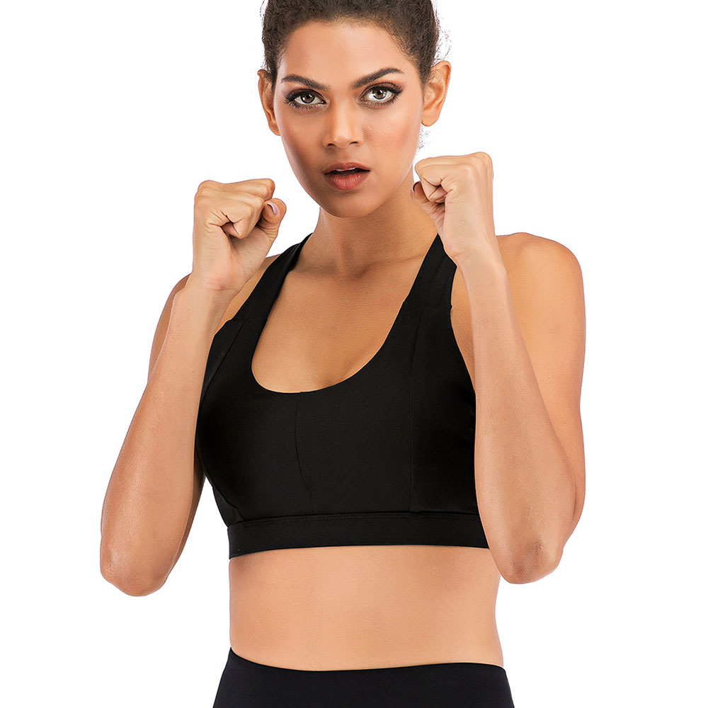 thumbnail 23 - New Womens Seamless Sports Bras High Impact Running Crop Tops Padded Yoga Bra US