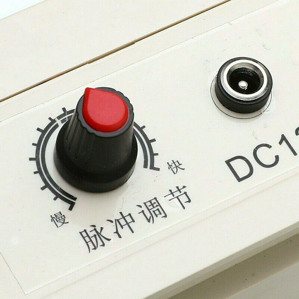 DC12V-AC220V-Solar-Electric-Fence-Energizer-Charger-For-Poultry-Horse-Pig-Dog thumbnail 5