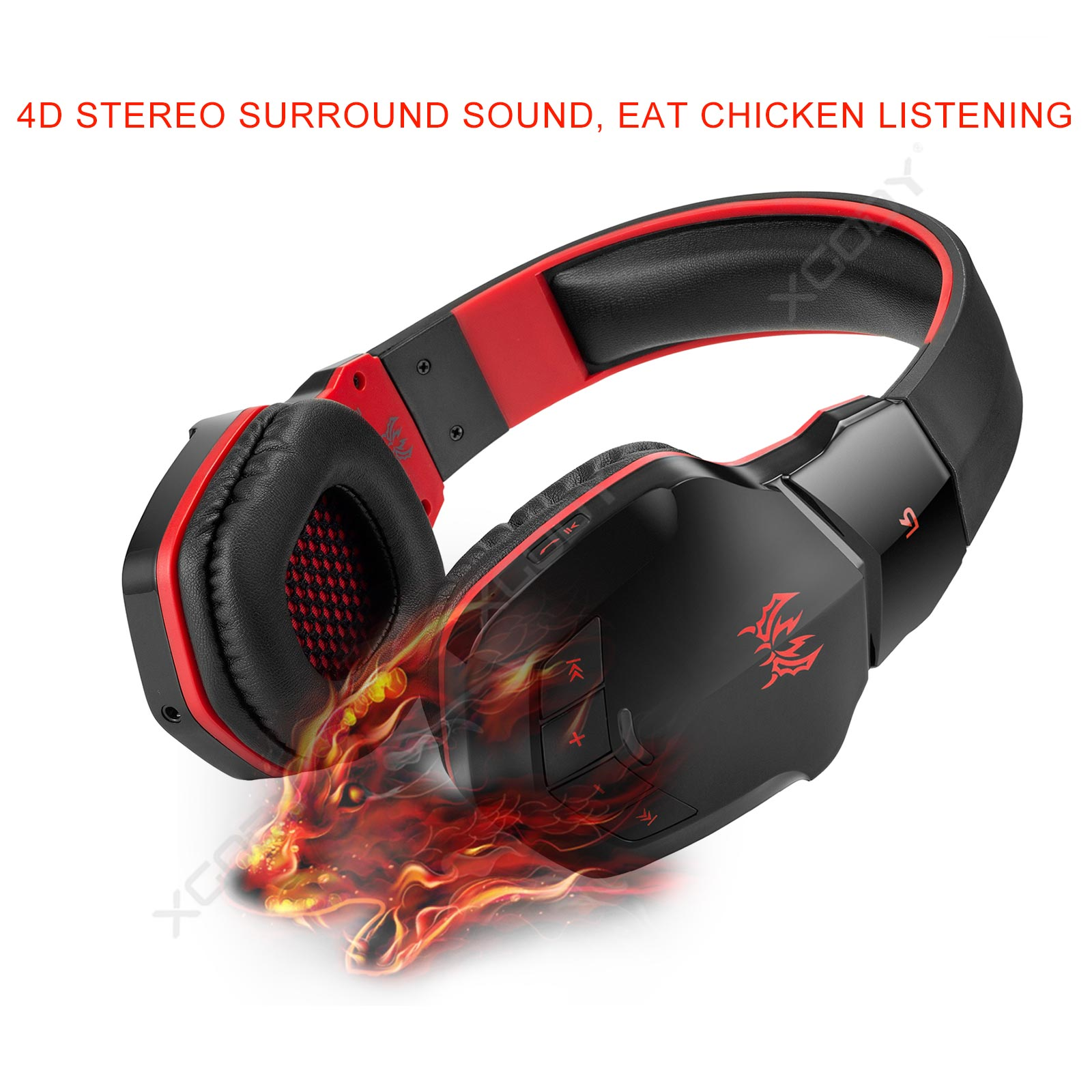 4 1 Bluetooth Estereo Inalambricos Kotion Cada B3505 Gaming Headset Mic Auriculares Ebay