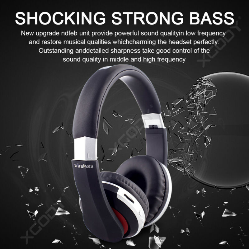 Wireless-Bluetooth-5-0-Headphone-Foldable-Stereo-Earphone-Super-Bass-Headset-Mic thumbnail 7