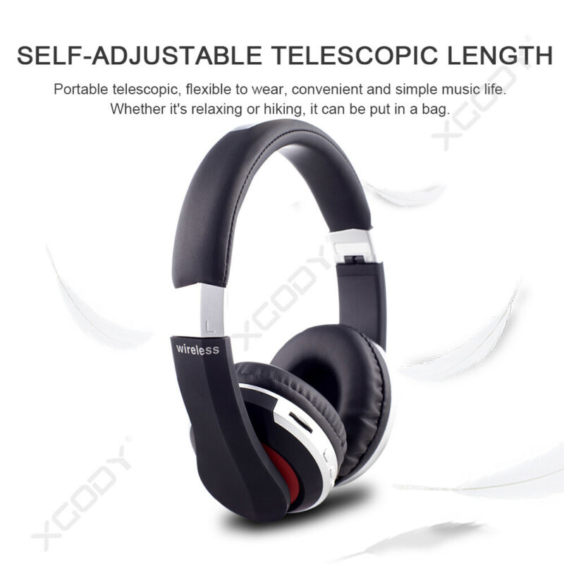 Wireless-Bluetooth-5-0-Headphone-Foldable-Stereo-Earphone-Super-Bass-Headset-Mic thumbnail 12