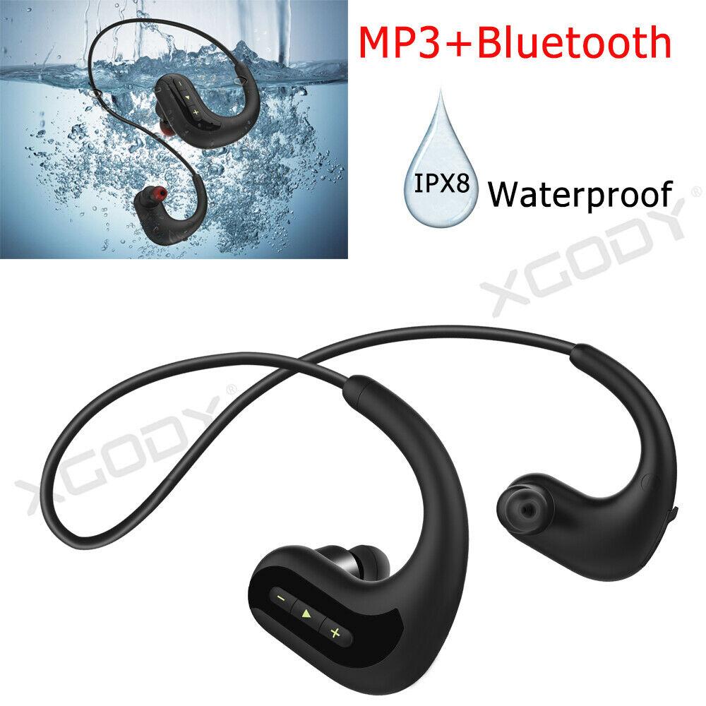 Wireless Bluetooth Earbuds Sweatproof Headphone Waterproof I