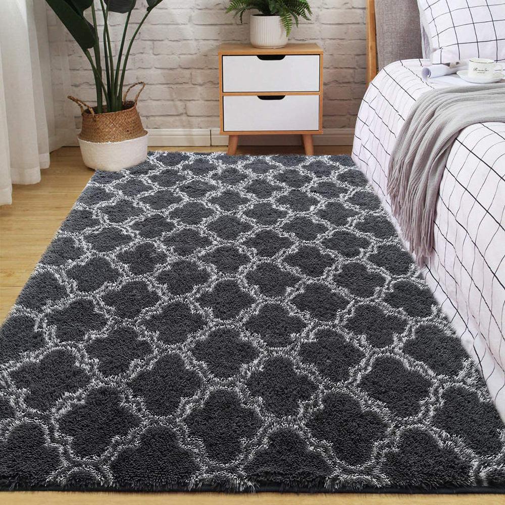 Velvet-Area-Rug-Soft-Fluffy-Carpets-for-Living-Room-Bedroom-Shaggy-Floor-Mat thumbnail 15