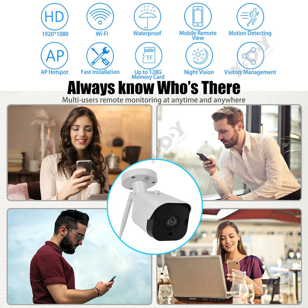 XGODY-2-3-4-PCS-1080P-HD-Outdoor-IP-Security-Camera-Wifi-CCTV-IR-Night-Vision-US thumbnail 7