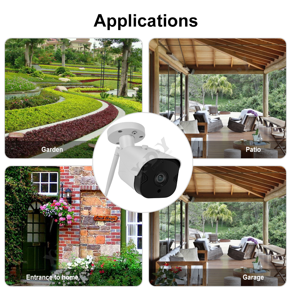 XGODY-2-3-4-PCS-1080P-HD-Outdoor-IP-Security-Camera-Wifi-CCTV-IR-Night-Vision-US thumbnail 10