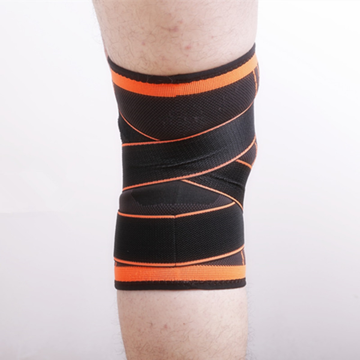 USA-3D-Weaving-Knee-Brace-Breathable-Sleeve-Support-for-Running-Jogging-Sports miniature 22