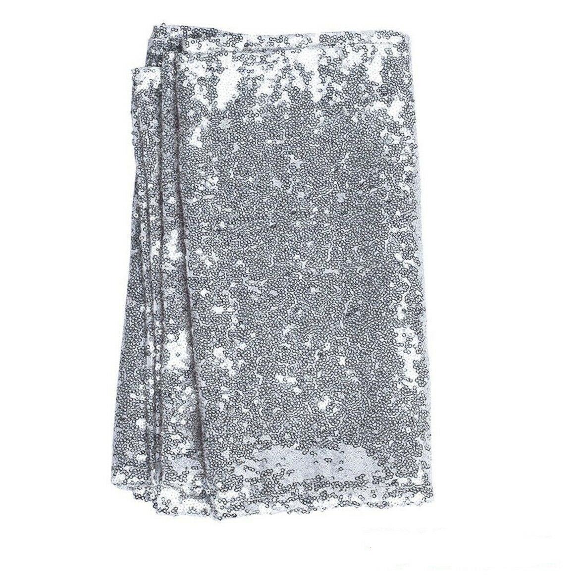 12-034-x72-039-039-108-034-118-034-Sparkle-Paillettes-Table-Runner-Tissu-Mariage-Banquet-Fete-Decor miniature 22