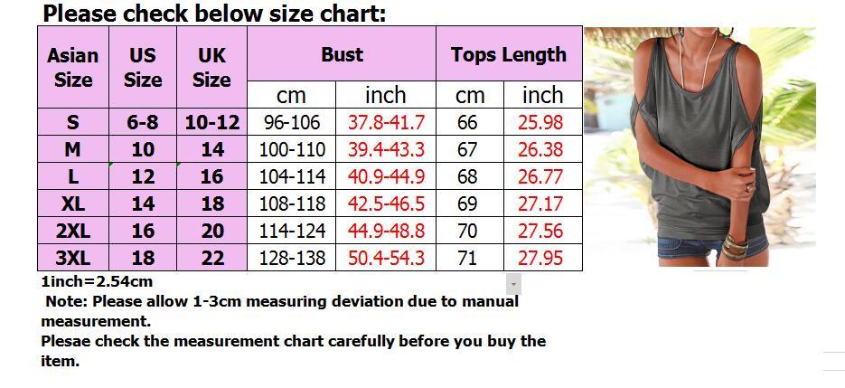 Femmes-Summer-Froid-Epaule-Tee-Top-Chemisier-Decoupe-Chauve-souris-manches-Casual-Tops-T-Shirt miniature 43
