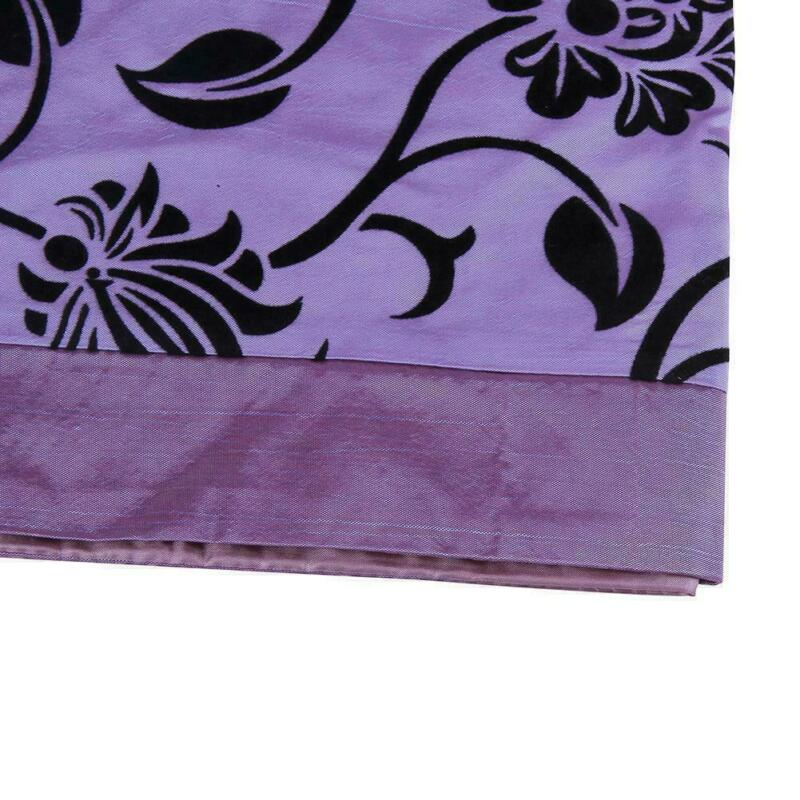 Vintage-Floral-Table-Runner-Cloth-Cover-Xmas-Wedding-Banquet-Party-Home-Decor-US thumbnail 9