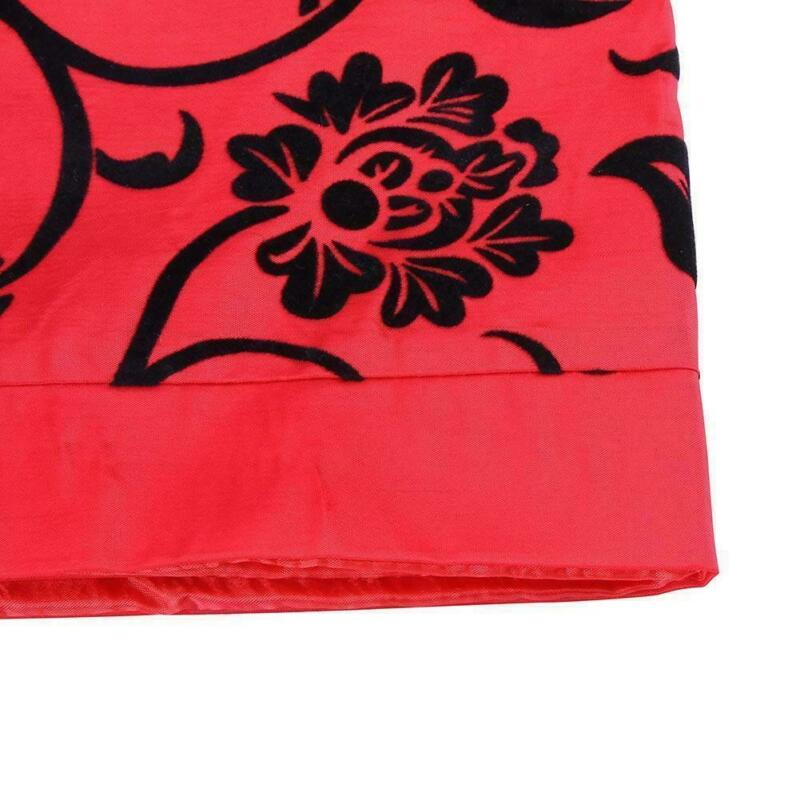 Vintage-Floral-Table-Runner-Cloth-Cover-Xmas-Wedding-Banquet-Party-Home-Decor-US thumbnail 29