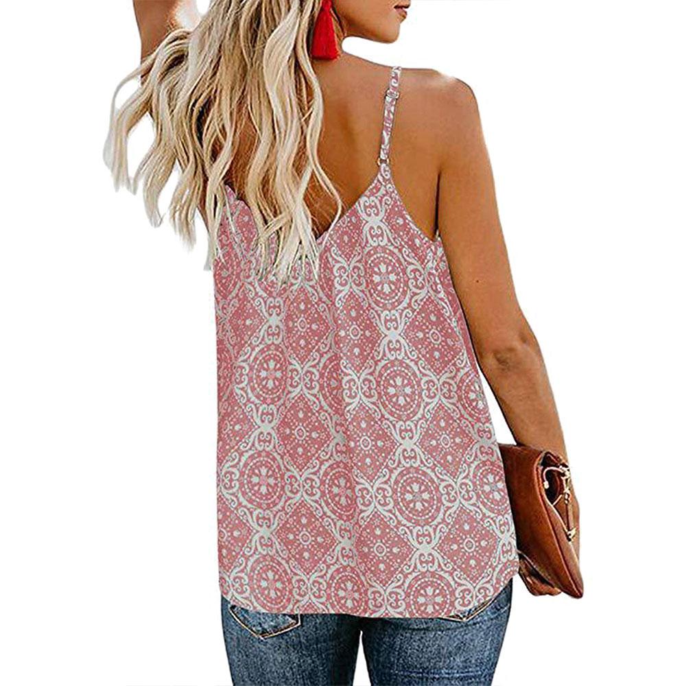 Women-Summer-Beach-Tank-Top-Loose-Shirt-Sleeveless-Tops-Blouses-Casual-Vest thumbnail 13