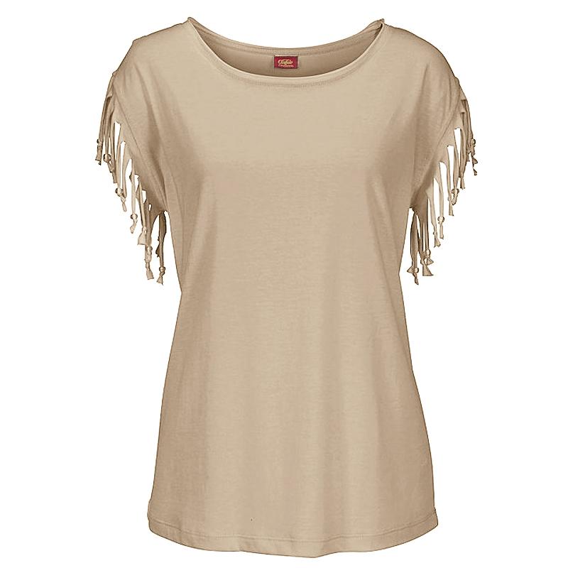 Plus-Size-Women-Tassels-Blouse-Short-Sleeve-Summer-Beach-Scoop-Neck-T-Shirt-Tops thumbnail 22