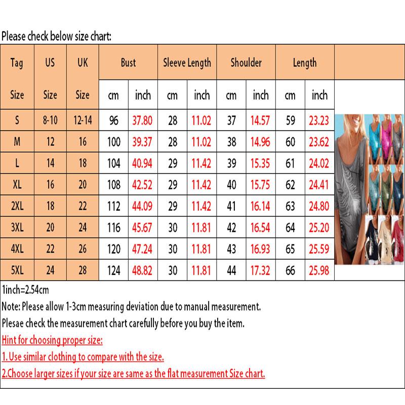 Femmes-Summer-Froid-Epaule-Tee-Top-Chemisier-Decoupe-Chauve-souris-manches-Casual-Tops-T-Shirt miniature 48