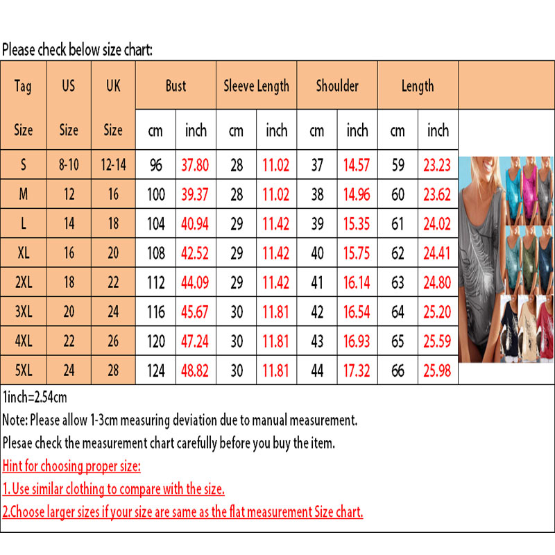 Femmes-Summer-Froid-Epaule-Tee-Top-Chemisier-Decoupe-Chauve-souris-manches-Casual-Tops-T-Shirt miniature 74