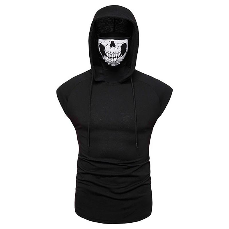 Fashion-Men-Sleeveless-Hoodie-Hooded-Sweatshirt-Tank-Tops-Gym-Fitness-Sport-Vest thumbnail 31