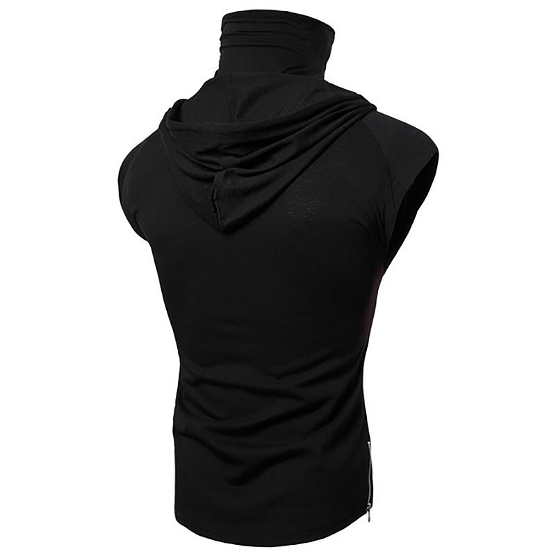 Fashion-Men-Sleeveless-Hoodie-Hooded-Sweatshirt-Tank-Tops-Gym-Fitness-Sport-Vest thumbnail 32