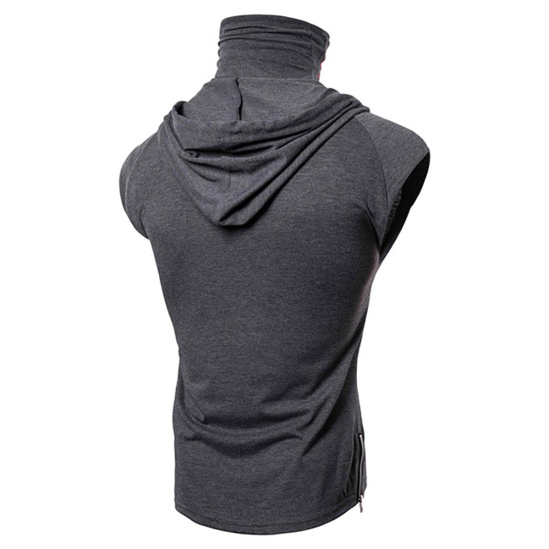 Fashion-Men-Sleeveless-Hoodie-Hooded-Sweatshirt-Tank-Tops-Gym-Fitness-Sport-Vest thumbnail 36