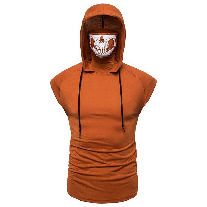 Fashion-Men-Sleeveless-Hoodie-Hooded-Sweatshirt-Tank-Tops-Gym-Fitness-Sport-Vest thumbnail 39