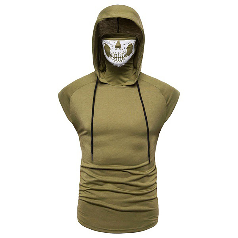 Fashion-Men-Sleeveless-Hoodie-Hooded-Sweatshirt-Tank-Tops-Gym-Fitness-Sport-Vest thumbnail 43