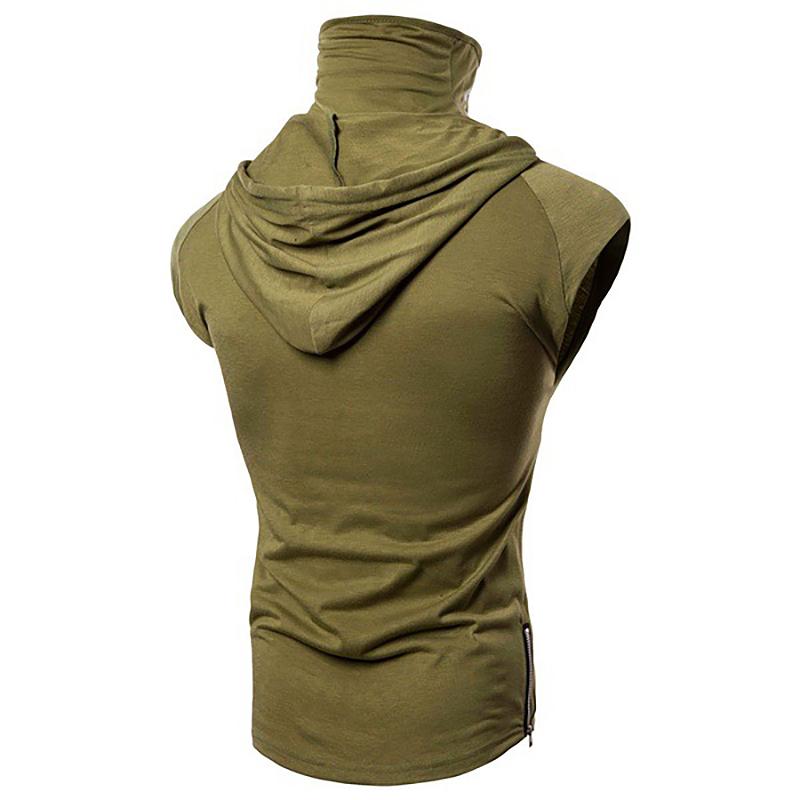 Fashion-Men-Sleeveless-Hoodie-Hooded-Sweatshirt-Tank-Tops-Gym-Fitness-Sport-Vest thumbnail 44