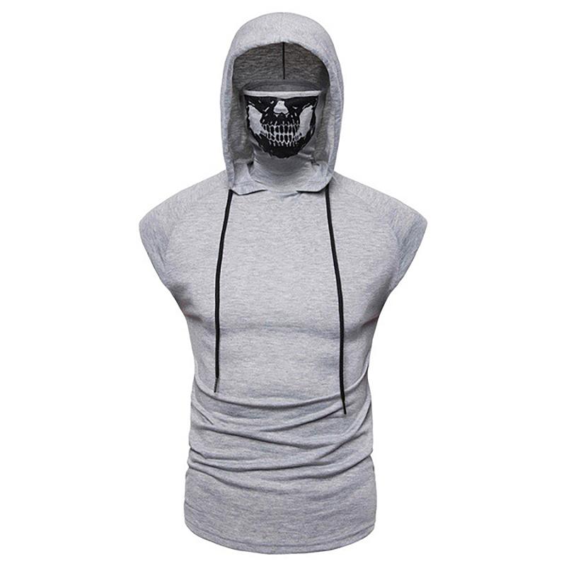 Fashion-Men-Sleeveless-Hoodie-Hooded-Sweatshirt-Tank-Tops-Gym-Fitness-Sport-Vest thumbnail 47
