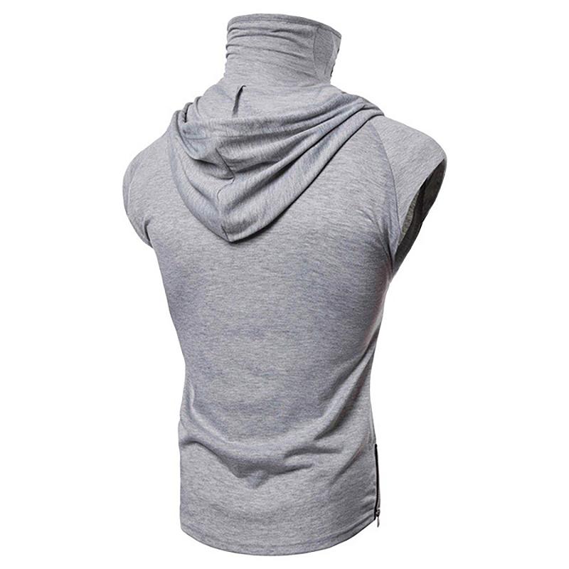 Fashion-Men-Sleeveless-Hoodie-Hooded-Sweatshirt-Tank-Tops-Gym-Fitness-Sport-Vest thumbnail 48