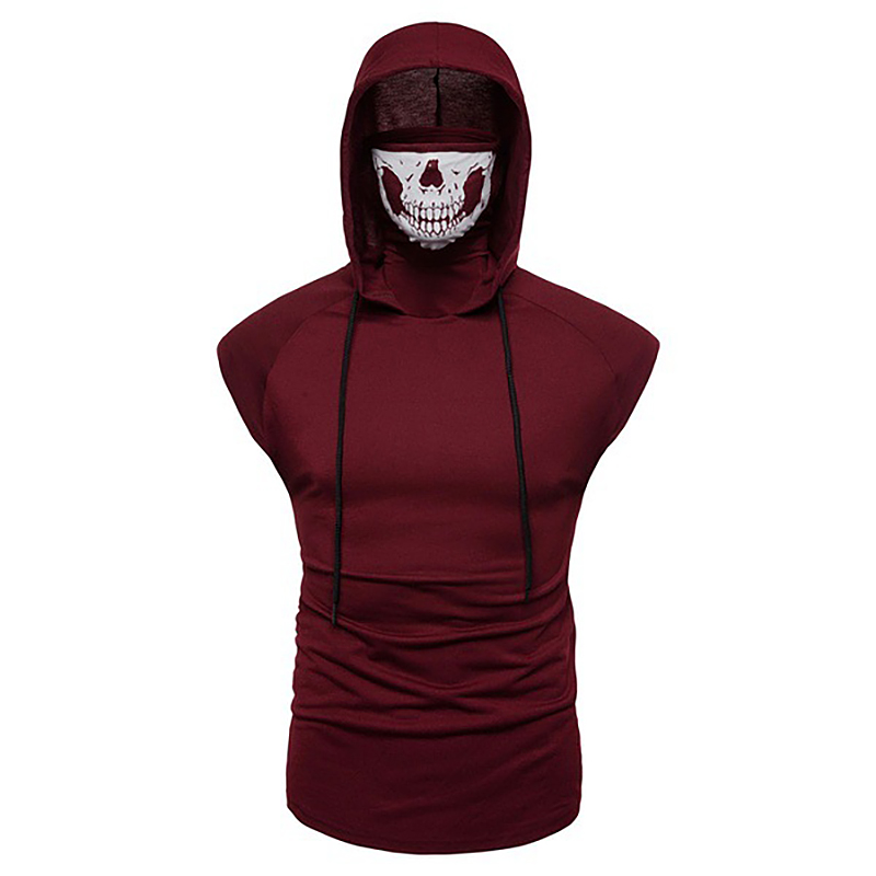 Fashion-Men-Sleeveless-Hoodie-Hooded-Sweatshirt-Tank-Tops-Gym-Fitness-Sport-Vest thumbnail 51