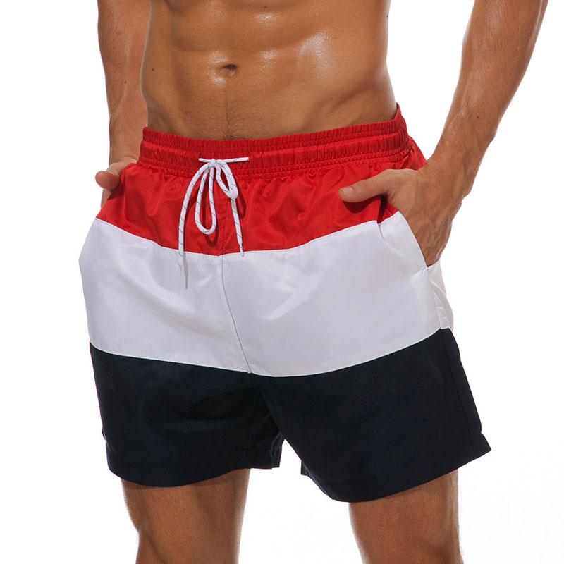 Mens-Swim-Shorts-Swimsuit-Trunks-Swimwear-Bathing-Suit-with-Pockets-Beachwear thumbnail 9
