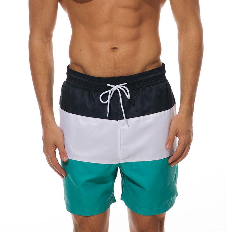 Mens-Swim-Shorts-Swimsuit-Trunks-Swimwear-Bathing-Suit-with-Pockets-Beachwear thumbnail 12