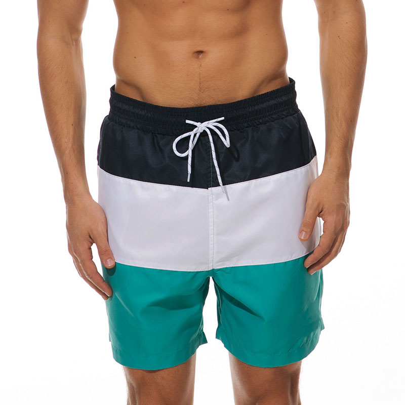 Mens-Swim-Shorts-Swimsuit-Trunks-Swimwear-Bathing-Suit-with-Pockets-Beachwear thumbnail 13
