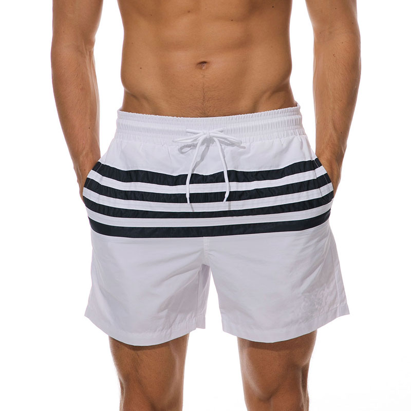 Mens-Swim-Shorts-Swimsuit-Trunks-Swimwear-Bathing-Suit-with-Pockets-Beachwear thumbnail 17