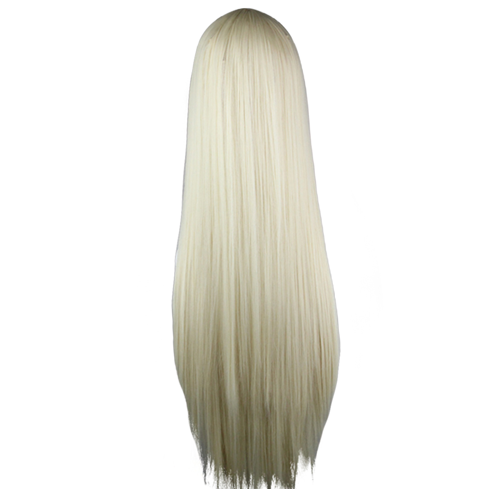 Heat-Resistant-Synthetic-Hair-Long-Straight-Cosplay-Wig-Anime-Fancy-Dress-Wigs miniature 6