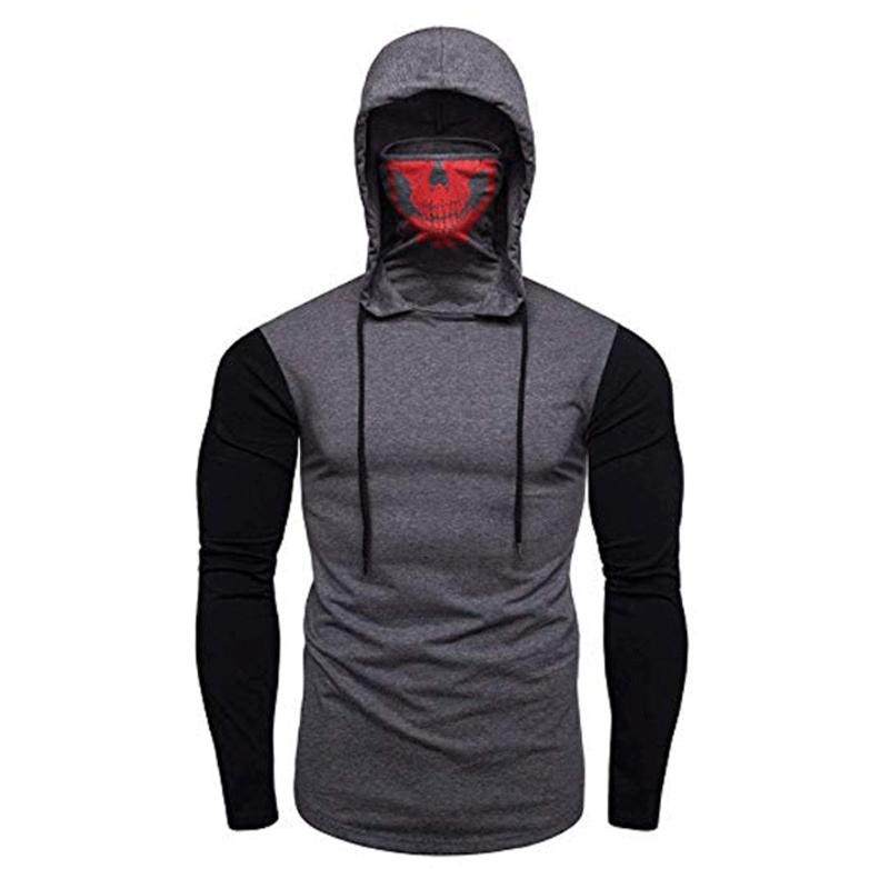 Men-Slim-Fit-Hoodie-Long-Sleeve-Muscle-Tee-T-shirt-Sweatshirt-Casual-Tops-Blouse thumbnail 13