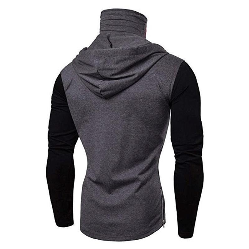 Men-Slim-Fit-Hoodie-Long-Sleeve-Muscle-Tee-T-shirt-Sweatshirt-Casual-Tops-Blouse thumbnail 14