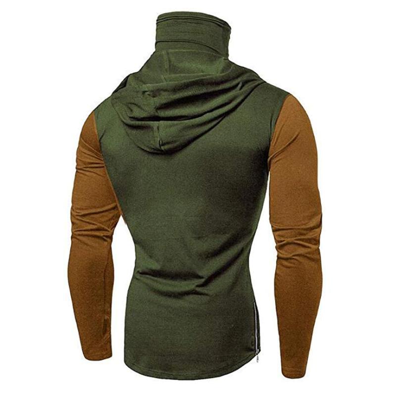 Men-Slim-Fit-Hoodie-Long-Sleeve-Muscle-Tee-T-shirt-Sweatshirt-Casual-Tops-Blouse thumbnail 17
