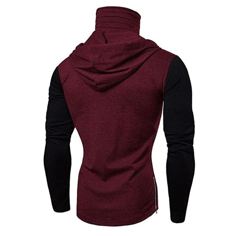 Men-Slim-Fit-Hoodie-Long-Sleeve-Muscle-Tee-T-shirt-Sweatshirt-Casual-Tops-Blouse thumbnail 20