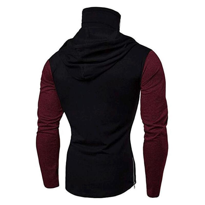 Men-Slim-Fit-Hoodie-Long-Sleeve-Muscle-Tee-T-shirt-Sweatshirt-Casual-Tops-Blouse thumbnail 23