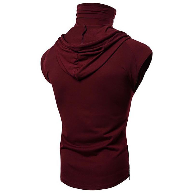 Fashion-Men-Sleeveless-Hoodie-Hooded-Sweatshirt-Tank-Tops-Gym-Fitness-Sport-Vest thumbnail 52