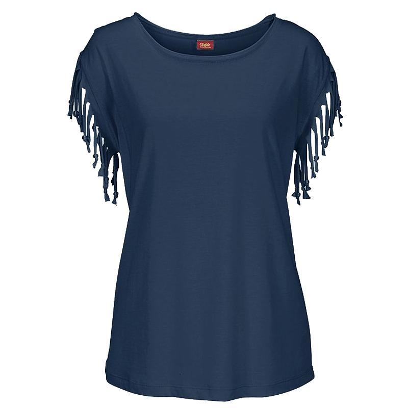 Plus-Size-Women-Tassels-Blouse-Short-Sleeve-Summer-Beach-Scoop-Neck-T-Shirt-Tops thumbnail 26